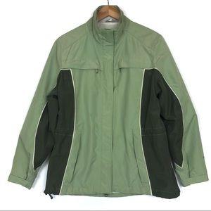 Woolrich Light Sage Green Utility / Ski Jacket